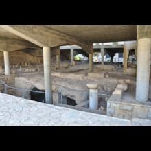Excavations Under Atrium of Basilica