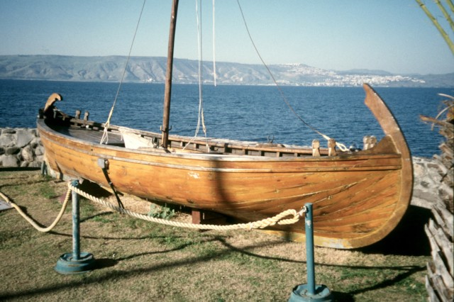 Galilee Boat Model