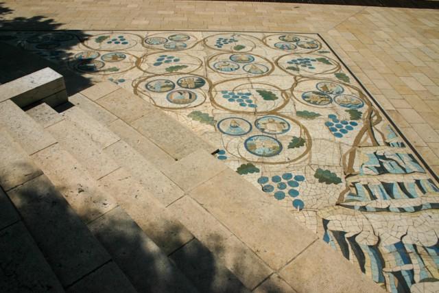Courtyard Mosaic 1
