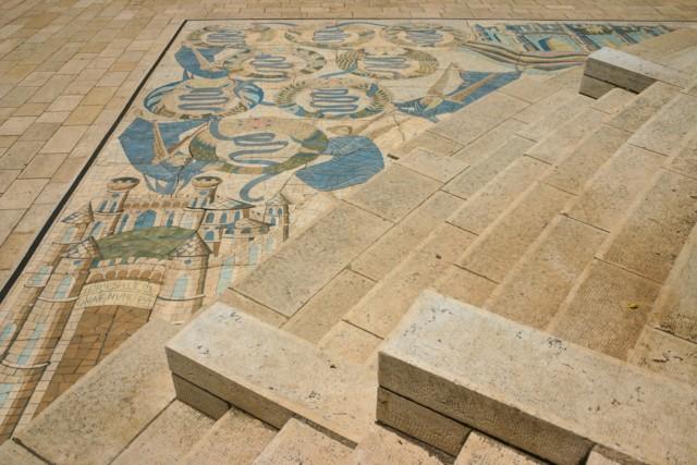 Courtyard Mosaic 2