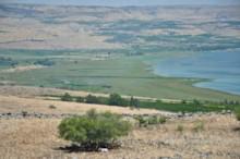 Jordan Entering Sea of Galilee