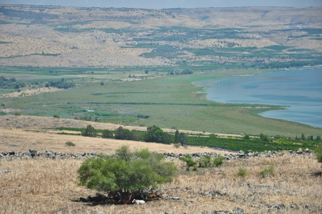 Jordan Entering Sea of Galilee