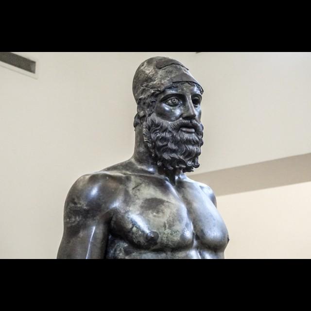 Riace Bronze Statue B Bust