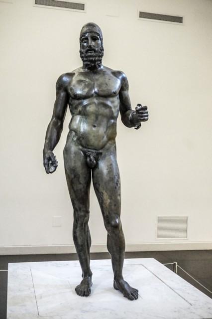 Riace Bronze Statue B