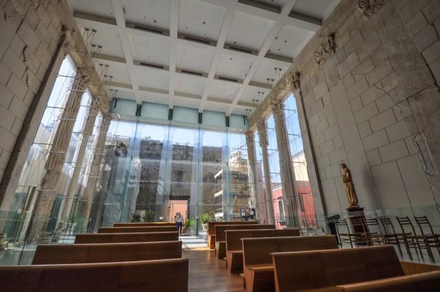 Pozzuoli Cathedral Columns