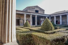 Peristyle Garden and House