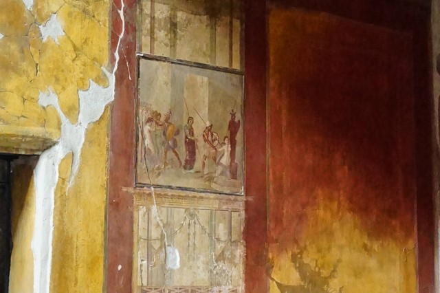 Fresco from Trojan War
