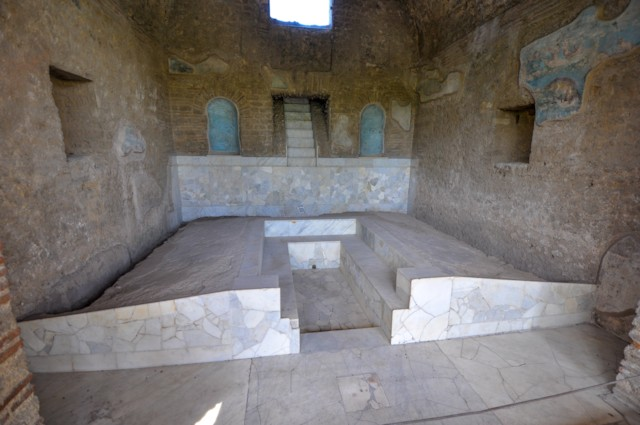 Triclinium With Waterfall