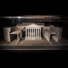 Forum of Augustus Temple of Mars Ultor Model