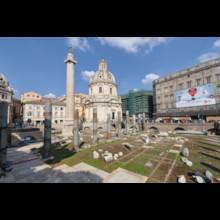 The Basilica Ulpia and Column of Trajan