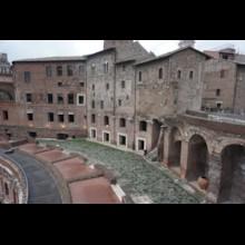 Market of Trajan Upper Exterior