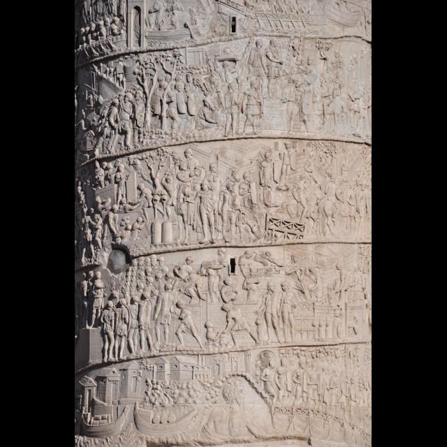 Column of Trajan Helical Frieze