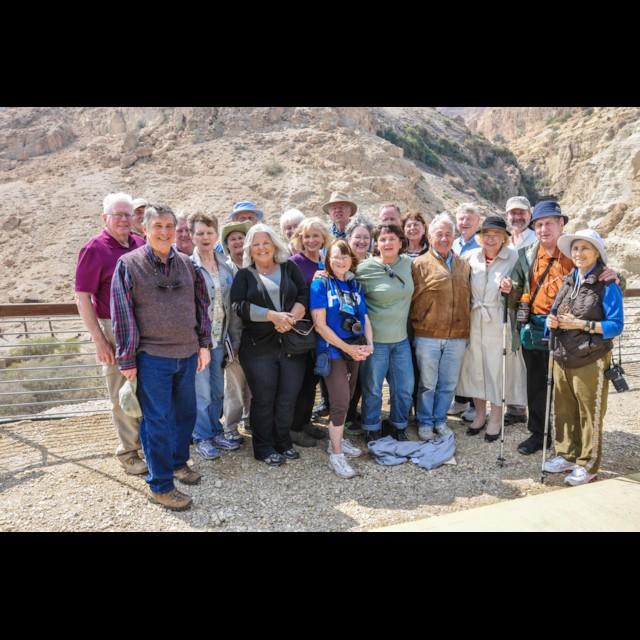 Group at En Gedi