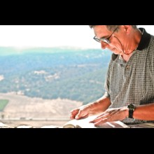 Scripture Reading at Valley of Elah
