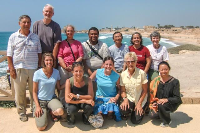 At Caesarea