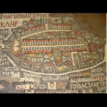 Madaba Map Jerusalem