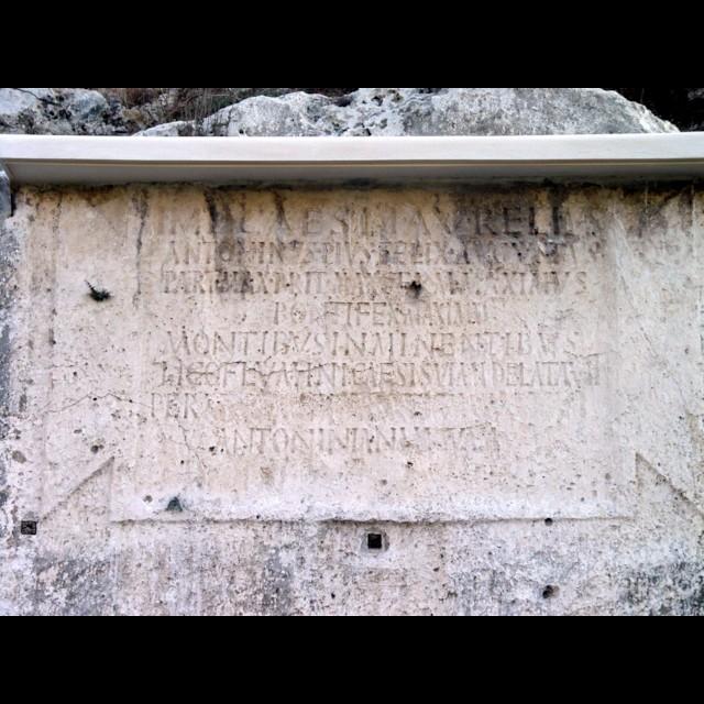 Caracalla Inscription (Detail)