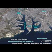 Harbors of Valletta Google Earth
