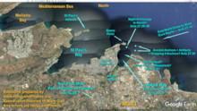 Salina Bay Marked Map