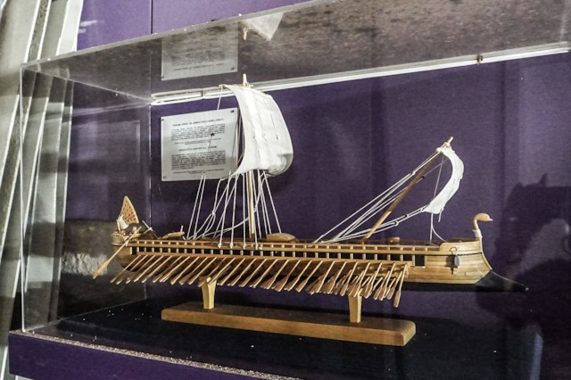 Model of Trireme