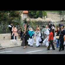 Pilgrims in Procession 1