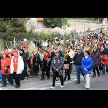 Pilgrims in Procession 2