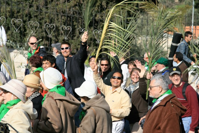 Pilgrims in Procession 4