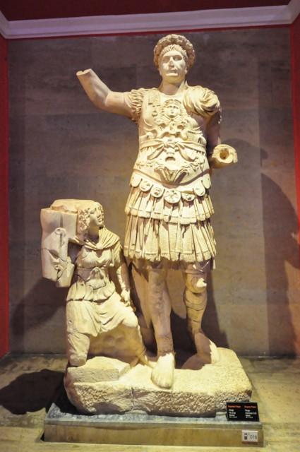 Trajan in Military Garb