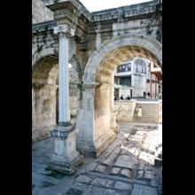 Hadrian's Gate Detail