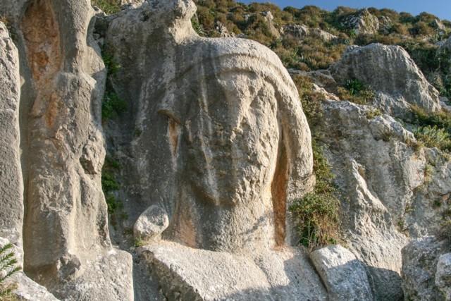 Rock Carving Detail