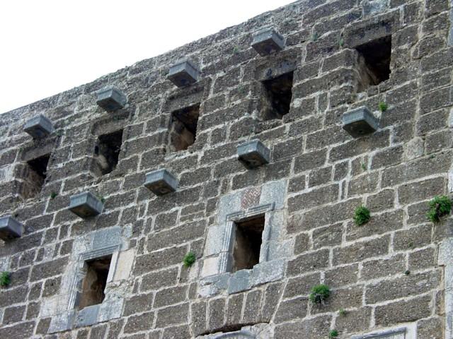 Theater Exterior (Mast Holders)