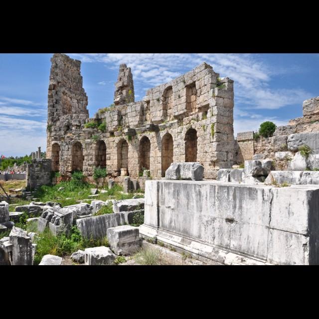 Hellenistic Gate Interior