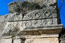 Nymphaeum (detail)