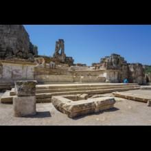 Caracalla Nymphaeum Exterior
