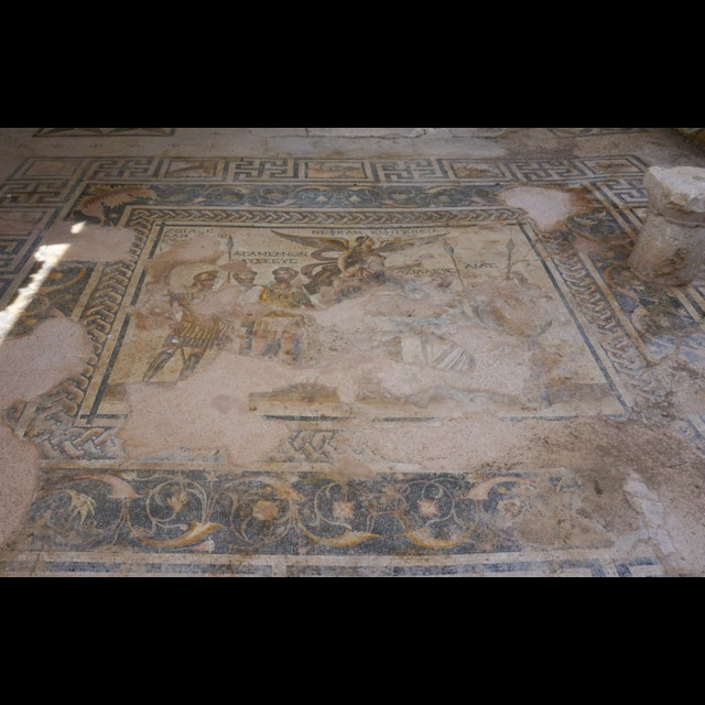 Trojan War Mosaic