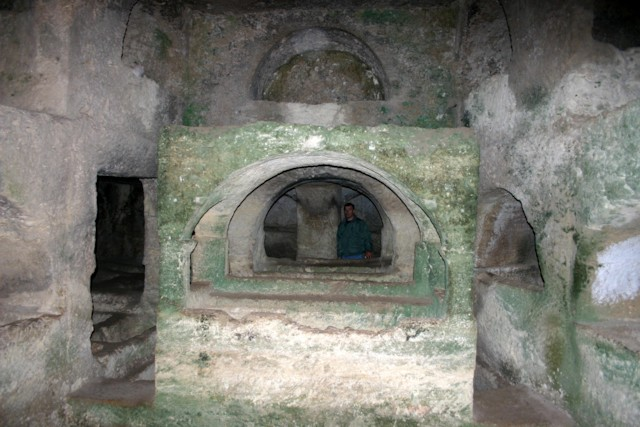 Rock Tombs Interior
