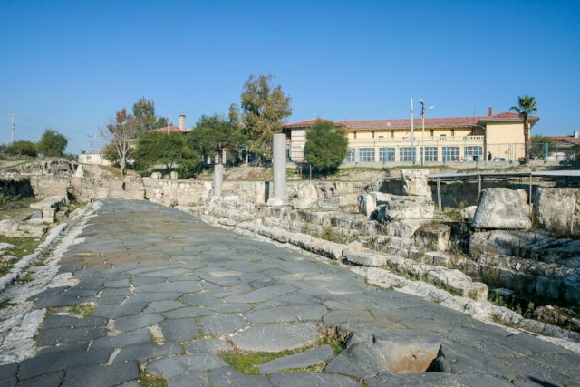 Tarsus Ancient Street 1