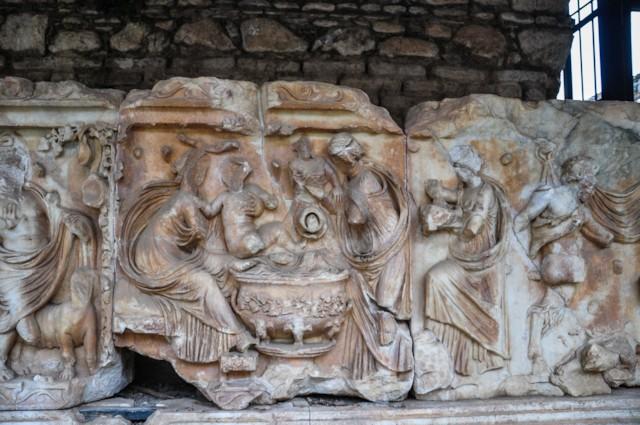Bathing of Dionysus Detail
