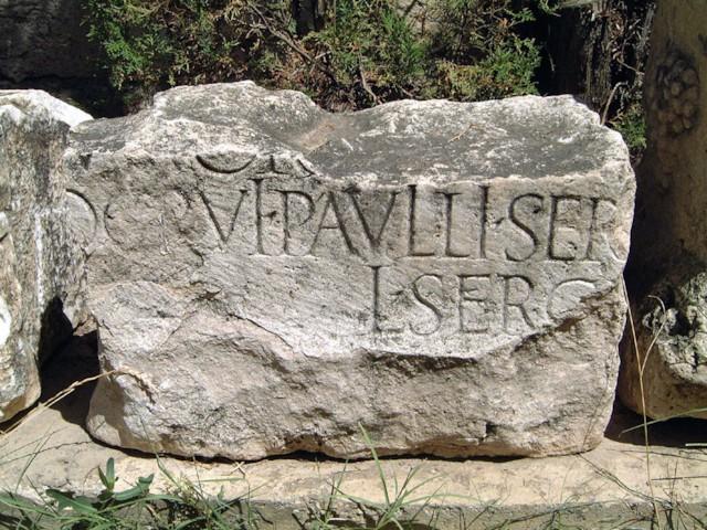 Sergius Paulus Inscription