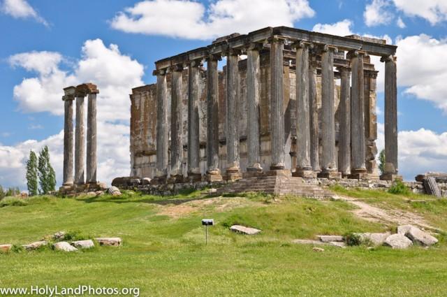 Temple of Zeus Detail