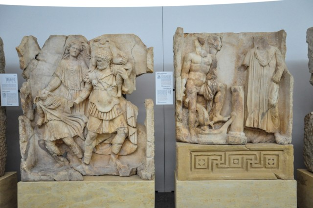 Flight from Troy and Arrival in Italy Panels