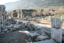 Street to Temple of Domitian