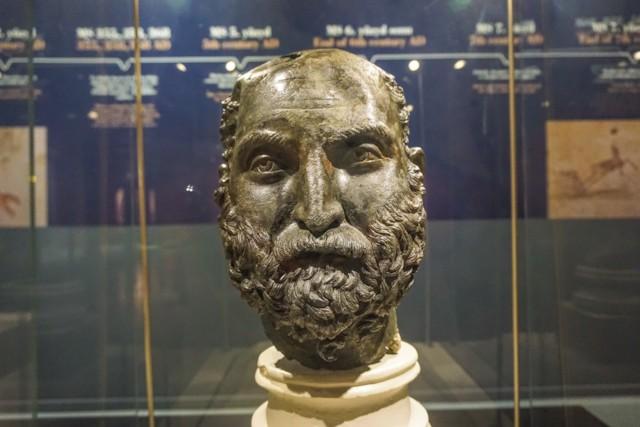 Bronze Head of a Philosopher