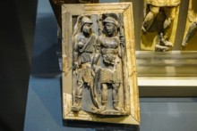 Ivory Frieze Two Soldiers