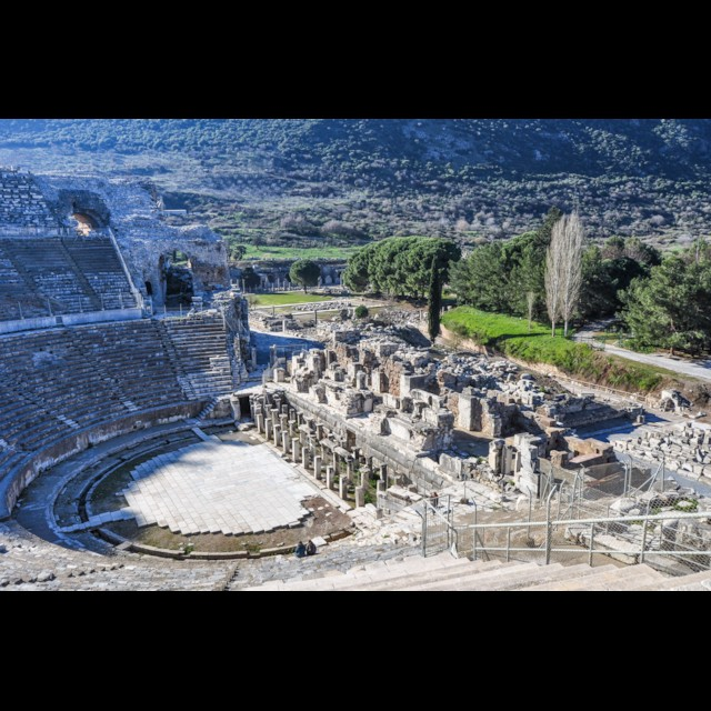 Theater and Agora
