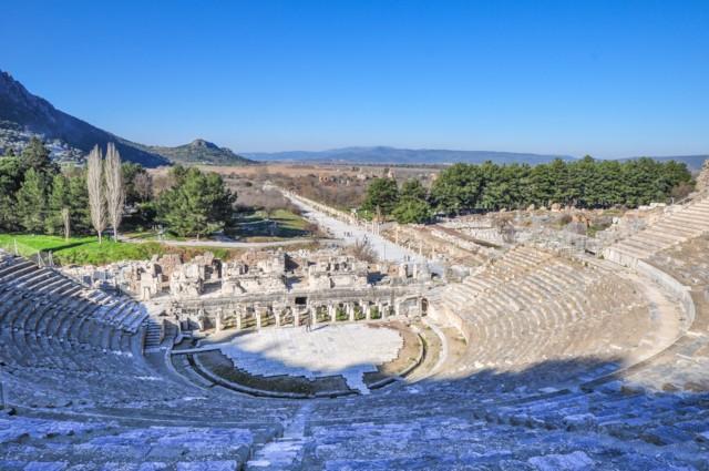 Ephesus Arcadia Street