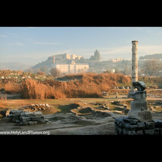Ephesus Temple of Artemis Current Remains