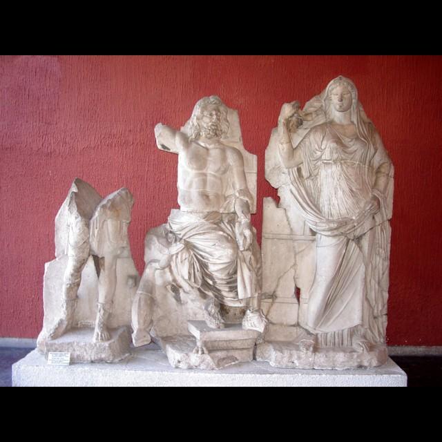 Artemis, Poseidon, Demeter