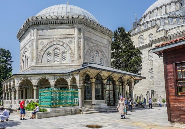 Tomb of Suleiman Exterior