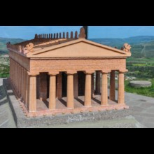 Temple of Athena Model